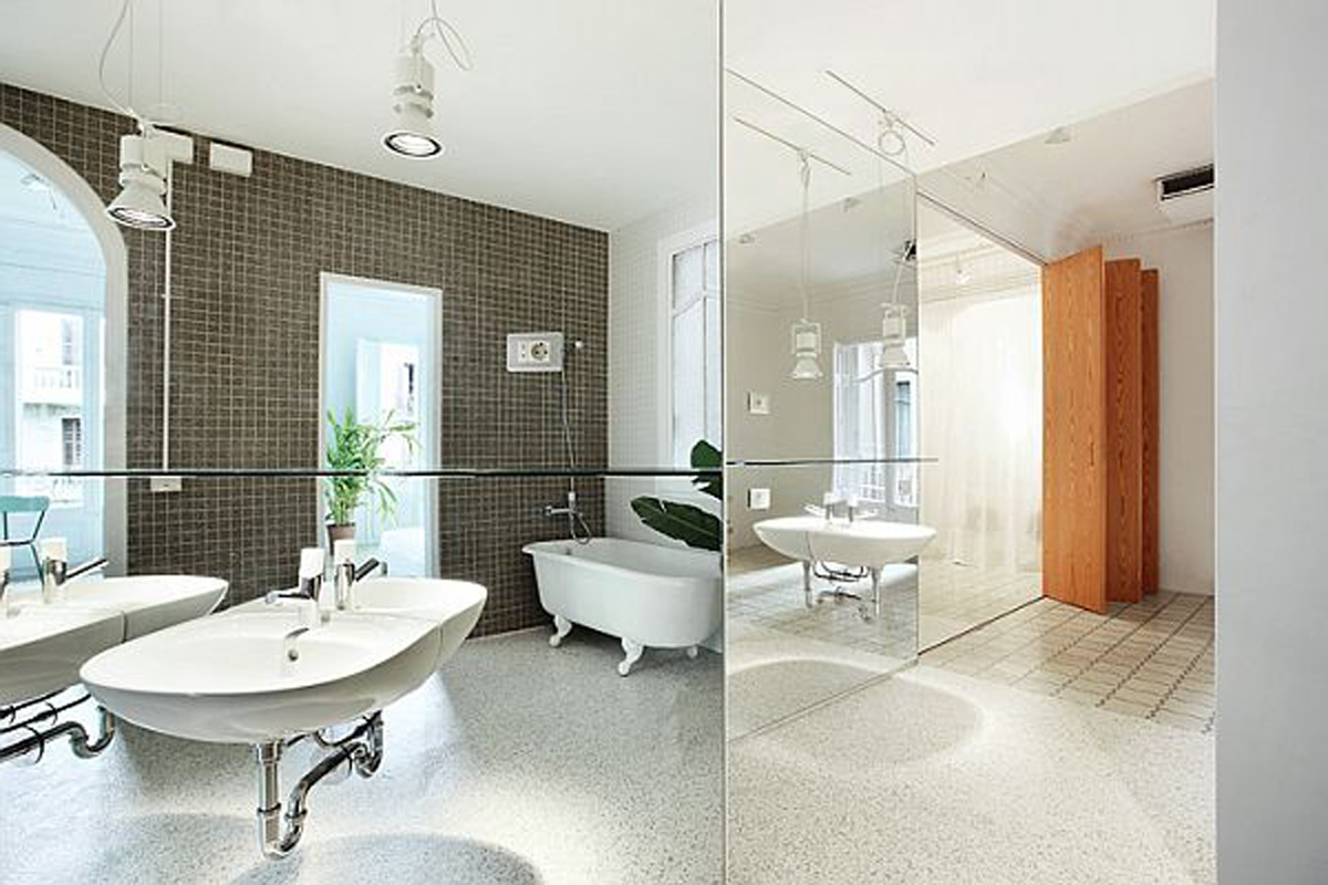 Renovated Apartment with Awesome Luxury Design ... on Apartment Bathroom  id=24980