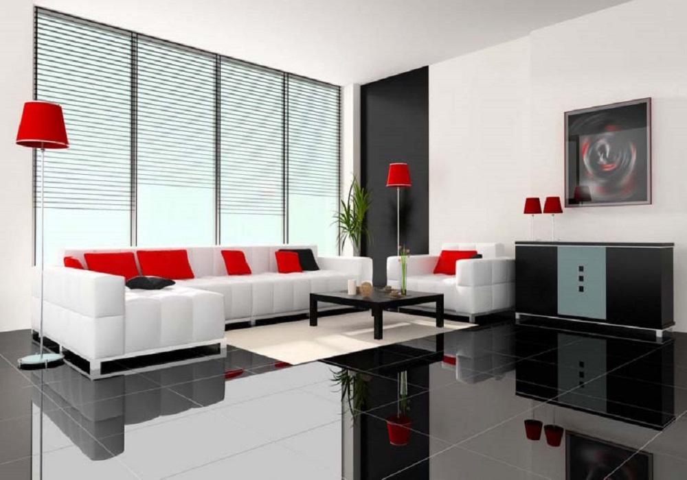 Success Key Featuring Minimalist Living Room Interior ...