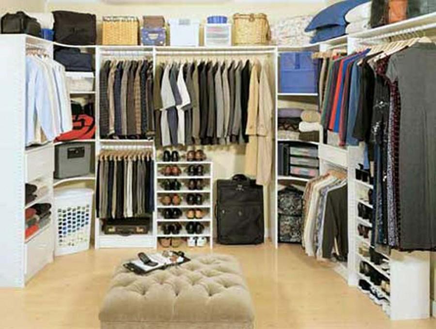 Modern Bedroom Closet Design Idea - Architecture World