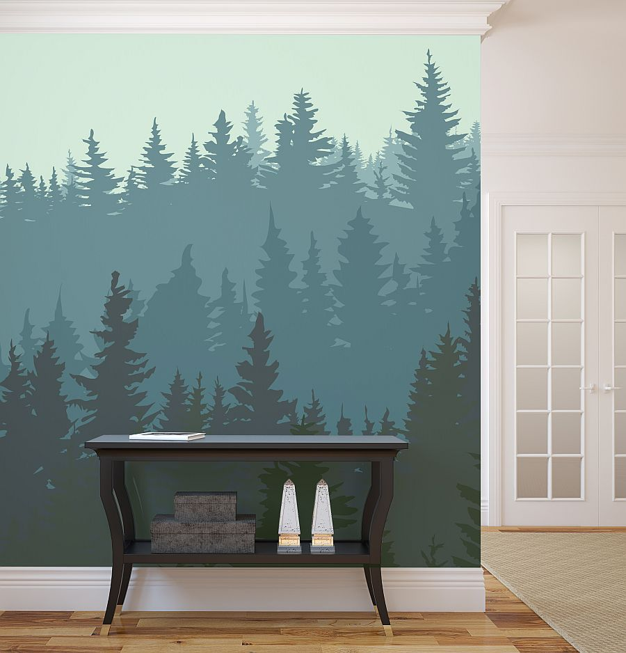 living room mural ideas wall murals ideas with several revealed themes for winter 16076